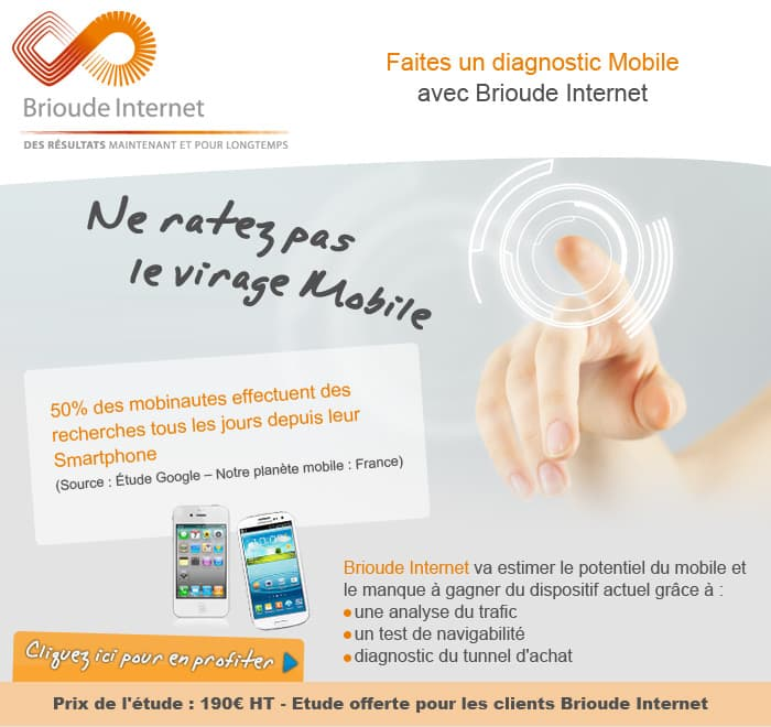 Offre Audit Mobile - Brioude Internet